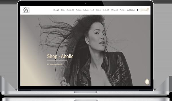 Shop-aholic webáruház