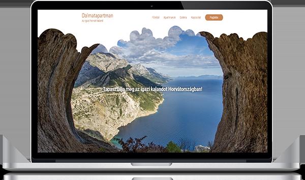 Dalmatapartman_referencia_weboldal